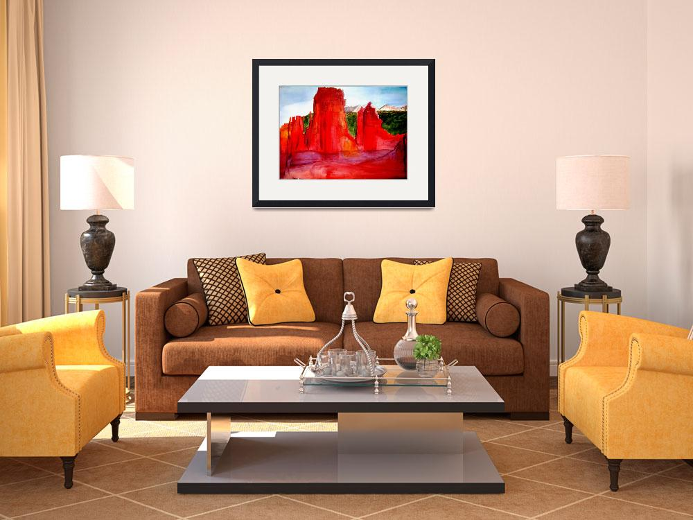 """""""Red Castle""""  (2010) by PaulC"""