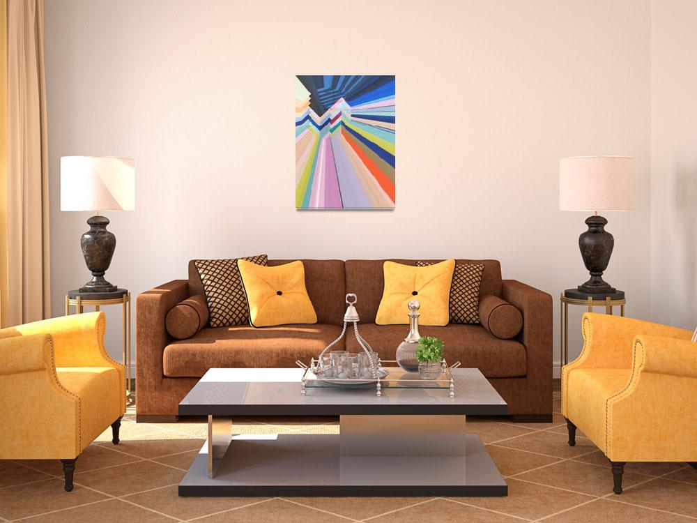 """Geometrical Colorful Art""  by Aneri"