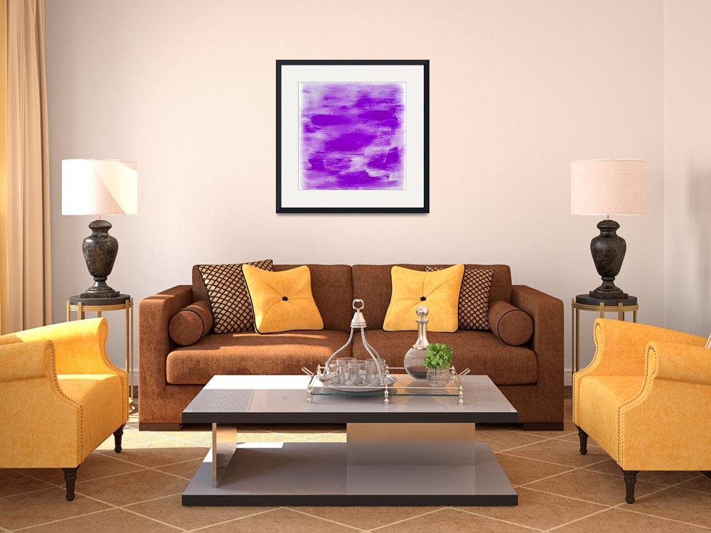 """""""Purple Abstract""""  (2015) by jadeevalley"""