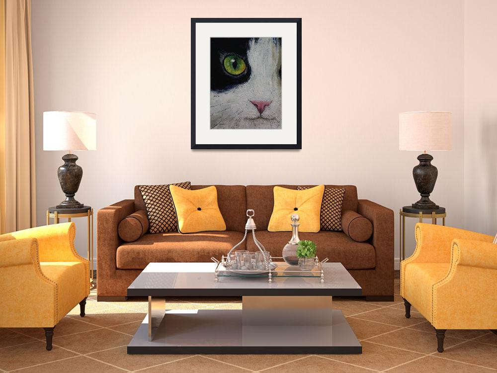 """""""Japanese Bobtail Cat&quot  by creese"""