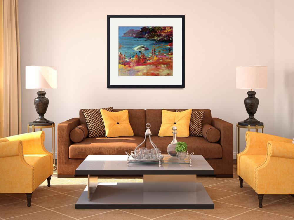 """""""Monaco Coast by Peter Graham&quot  by fineartmasters"""