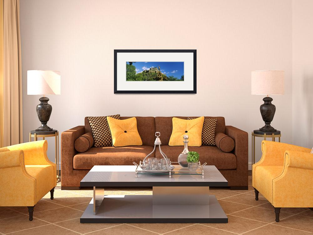 """""""Low angle view of a castle&quot  by Panoramic_Images"""