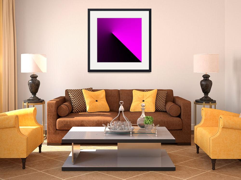 """""""abstract-black-to-the-fuchsia-around-a-point&quot  by travel"""