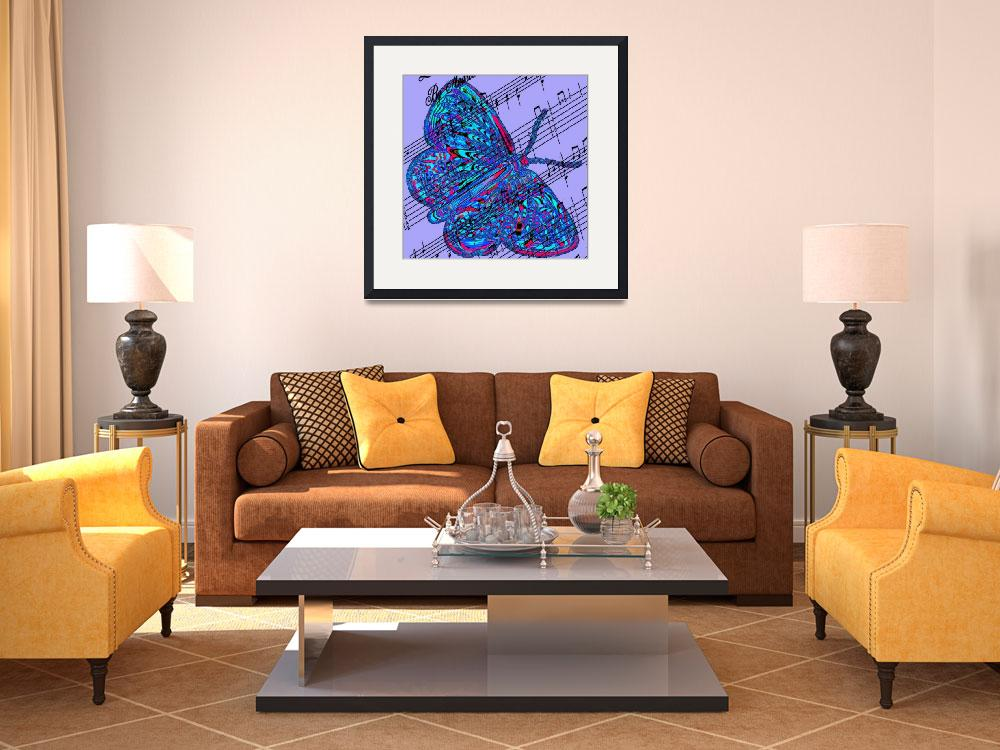 """""""butterfly purple music""""  by lizmix"""