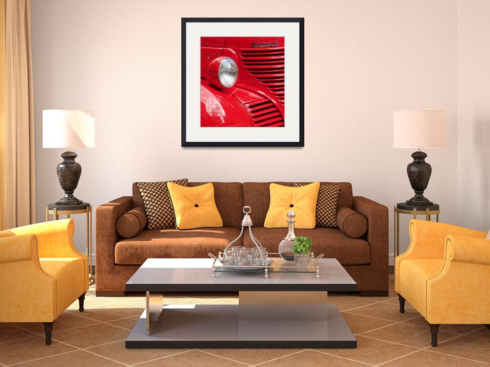 """""""Classic Red&quot  (2008) by AbigailHill"""
