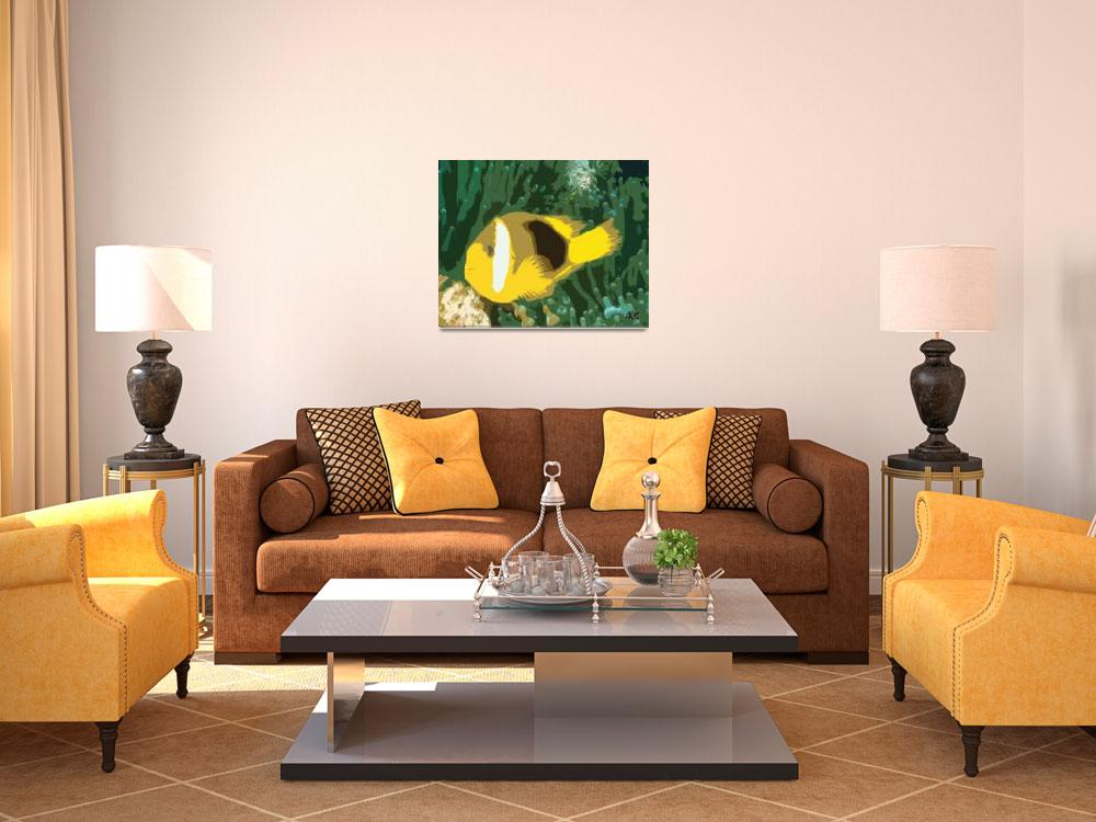 """""""YELLOW FISH&quot  (2003) by AES"""