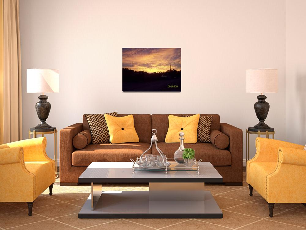 """""""Sunset&quot  (2011) by Daniel-Riggs"""