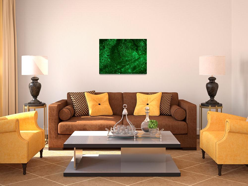 """""""Green Solar Abstract""""  by abstractnataron"""