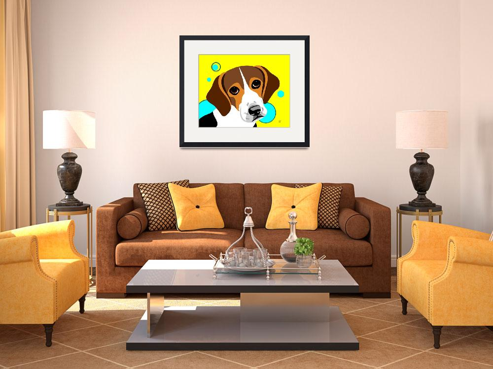"""""""Beagle&quot  by waterart"""