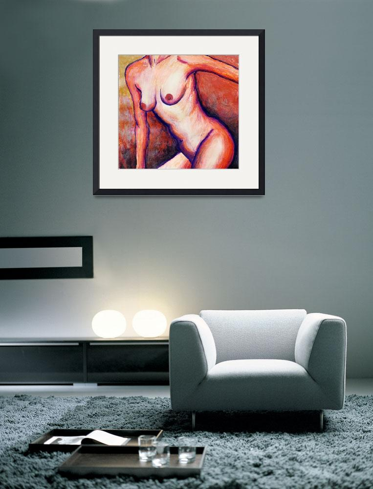 """""""Nude 3&quot  (2009) by dianedaversa"""