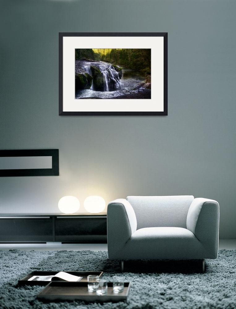 """""""Lower Lewis Falls&quot  (2009) by JoshuaCramer"""