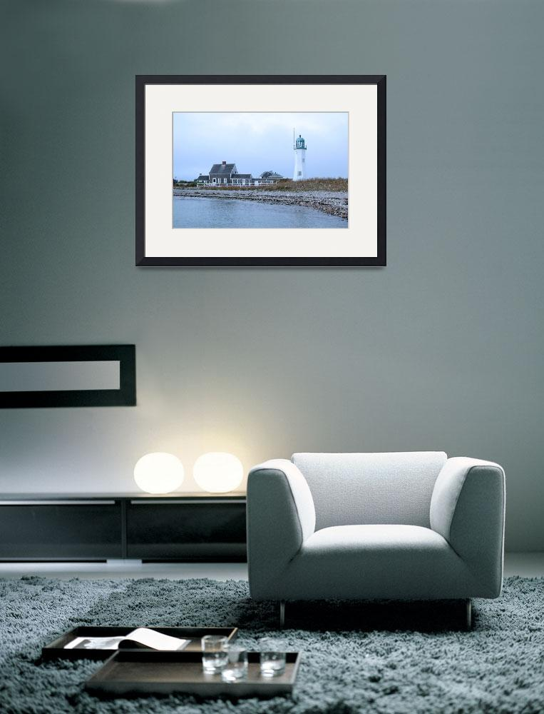 """""""Old Scituate Light&quot  by EdgewaterGallery"""