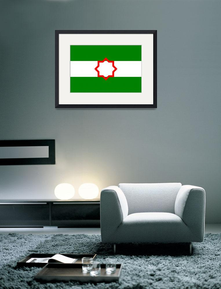 """Andalusia flag""  by tony4urban"