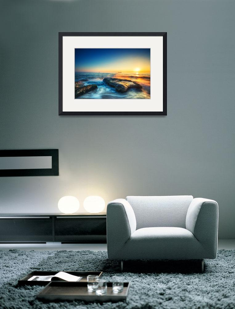 """Sun Photo Framed Print&quot  by buddakats1"