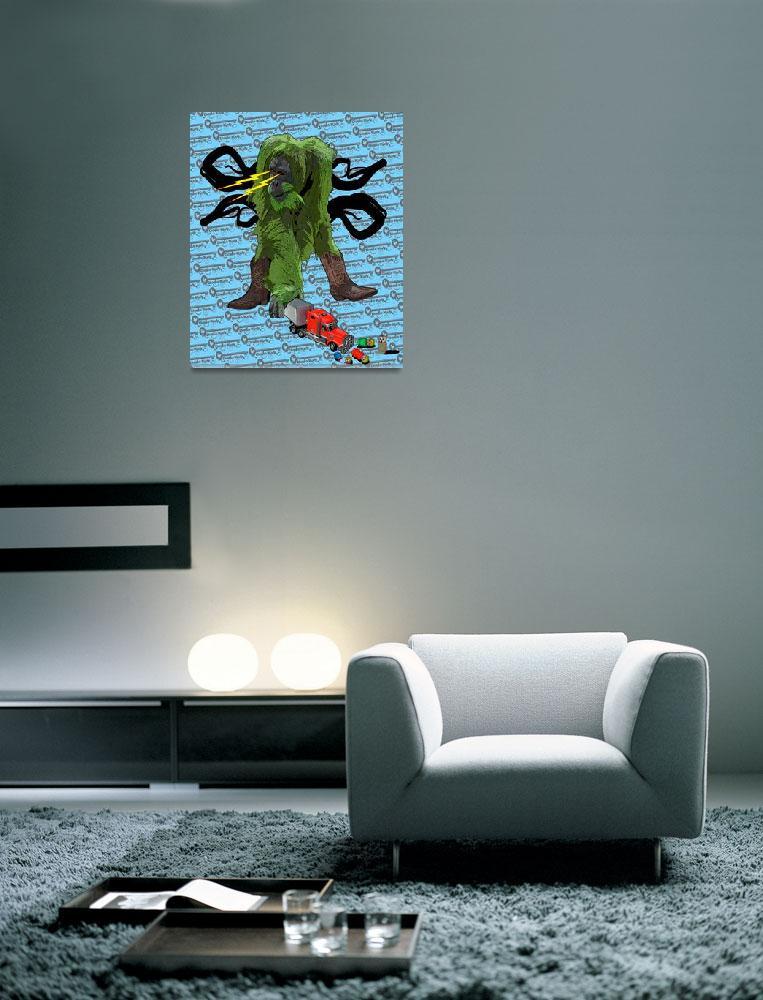 """""""Green Tang Kills""""  (2008) by kubiac666"""