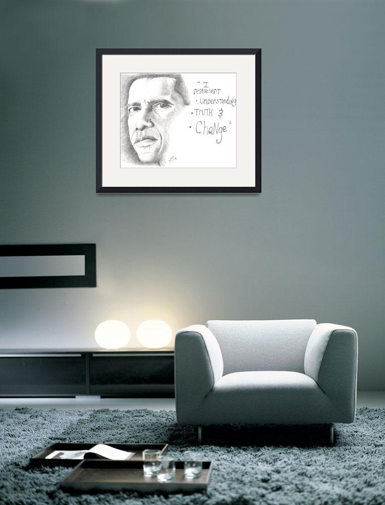 """""""OBAMA&quot  (2008) by fmitchum"""