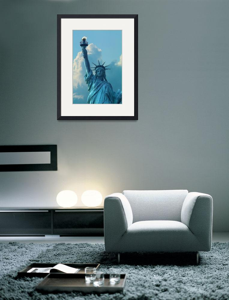 """""""Statue of Liberty, New York, USA&quot  (2010) by calphy"""