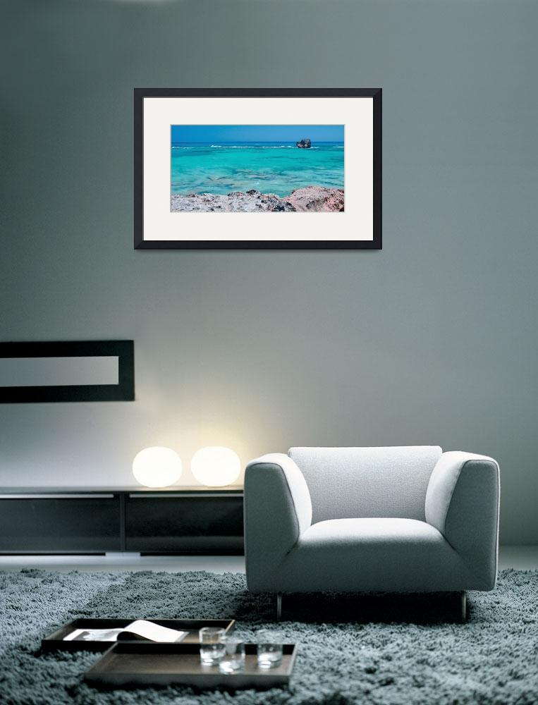 """""""Church Bay Stripes&quot  (2015) by PadgettGallery"""