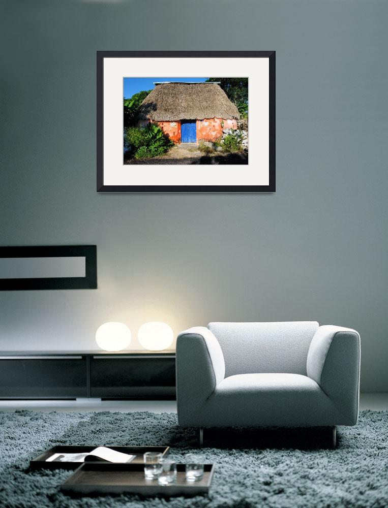 """""""Typical rural home of the mayan descendants&quot  (2012) by Auero"""