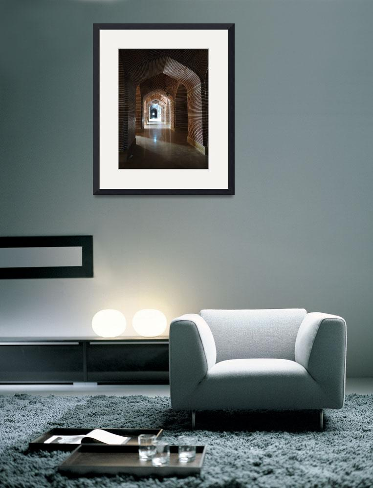 """Arches Light and Reflections_5472&quot  (2012) by davies"