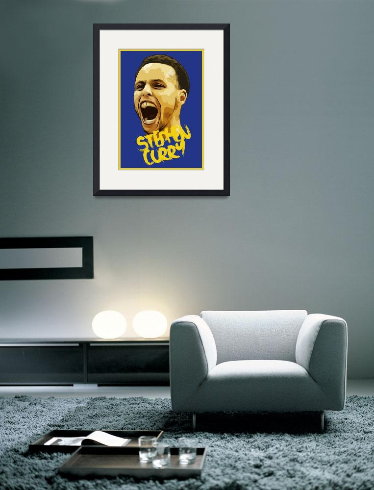 """Stephen Curry""  (2016) by taylansoyturk"
