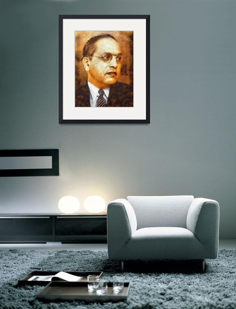 """""""Dr. Bhimrao Ambedkar&quot  (2015) by acer"""
