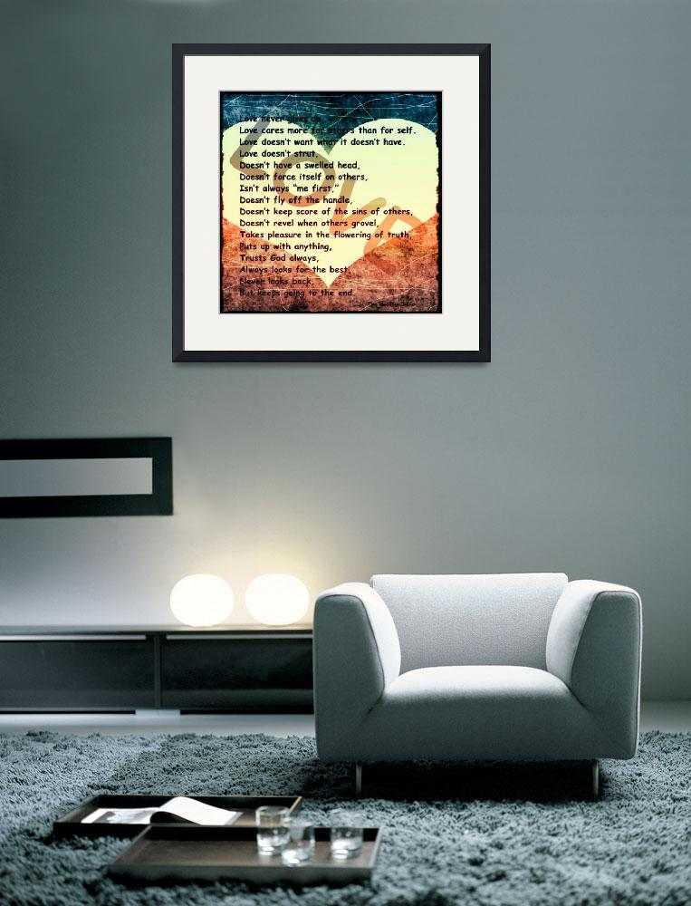 """""""love message heart red white blue""""  by lizmix"""