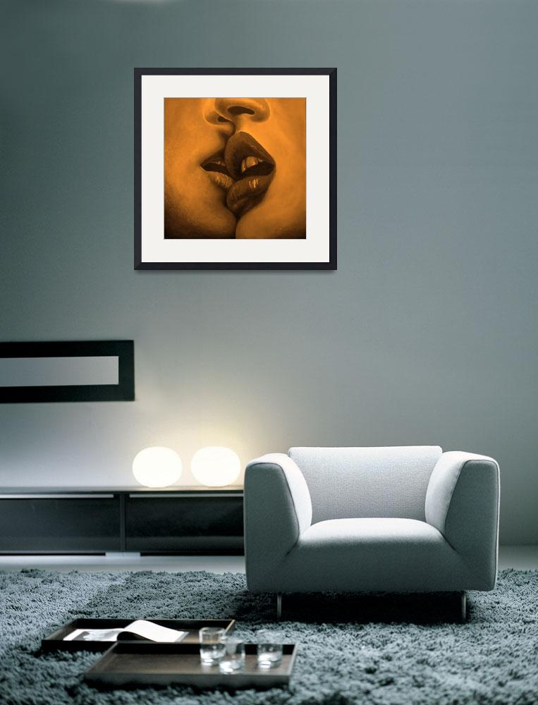 """""""Kiss Yellow Mood&quot  (2009) by MuseInLove"""