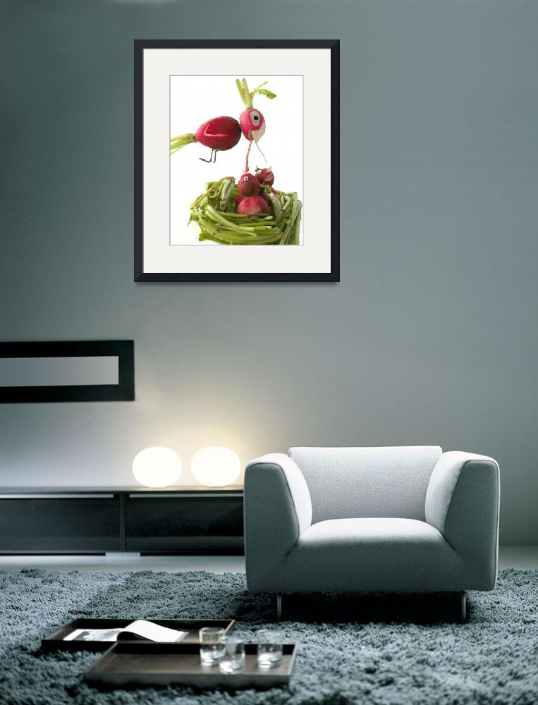 """""""Radish Cardinal&quot  (2009) by rere"""
