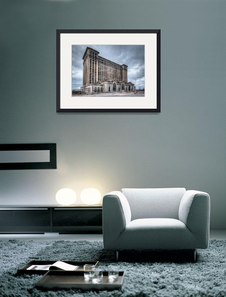 """""""Michigan Central Depot&quot  (2010) by JamesHowePhotography"""