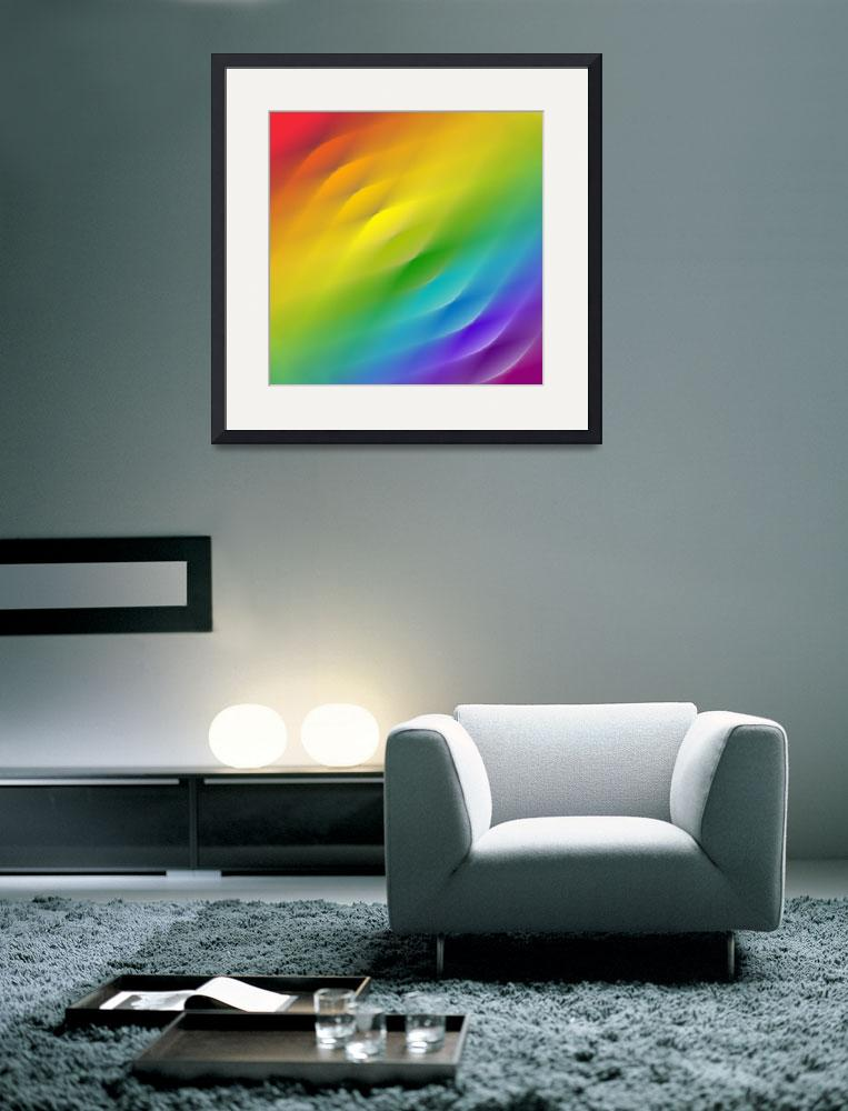 """""""color wheel square blur&quot  (2008) by AngelaHayden"""