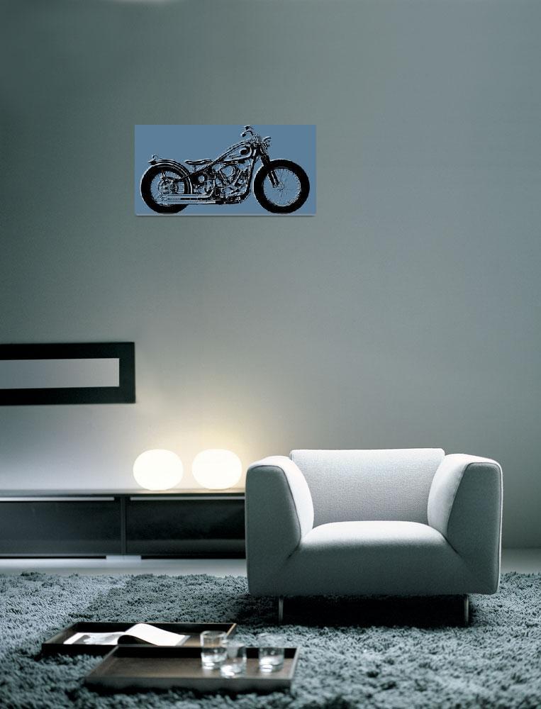 """Harley-Davidson""  (2014) by RubinoFineArt"