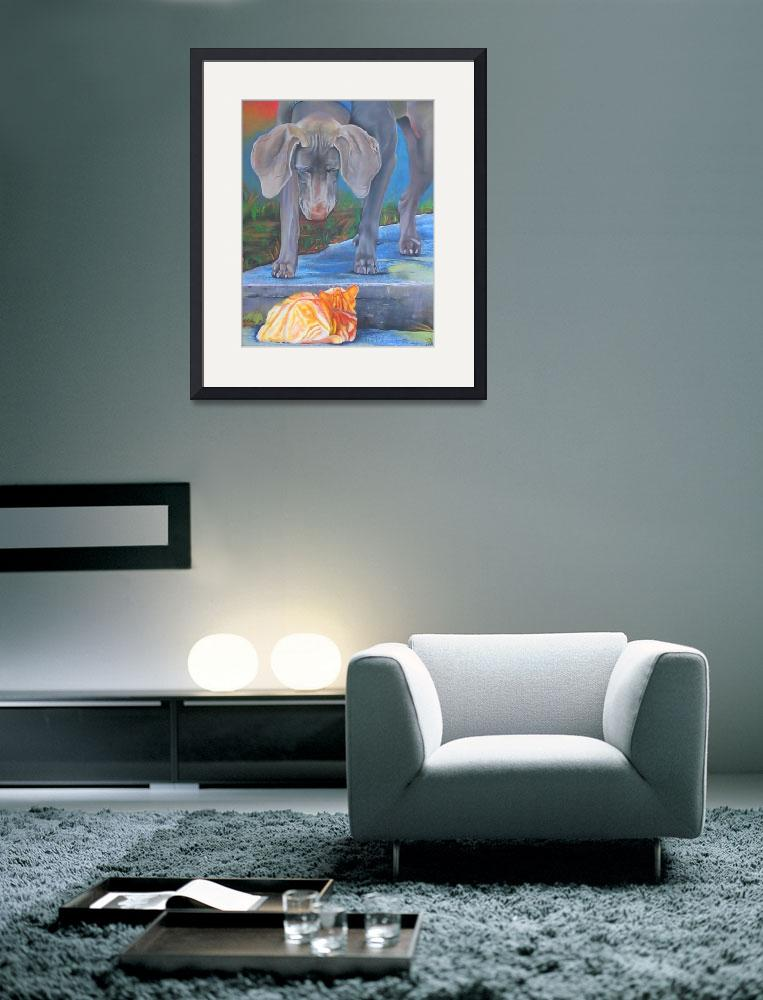 """""""Crossing Paths&quot  (2005) by ArtPrints"""