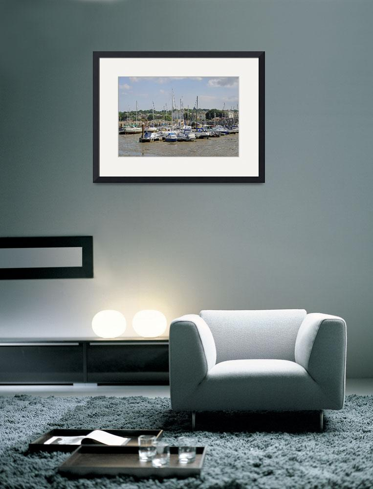 """""""Ryde Harbour (24271-RDA)&quot  (2010) by rodjohnson"""