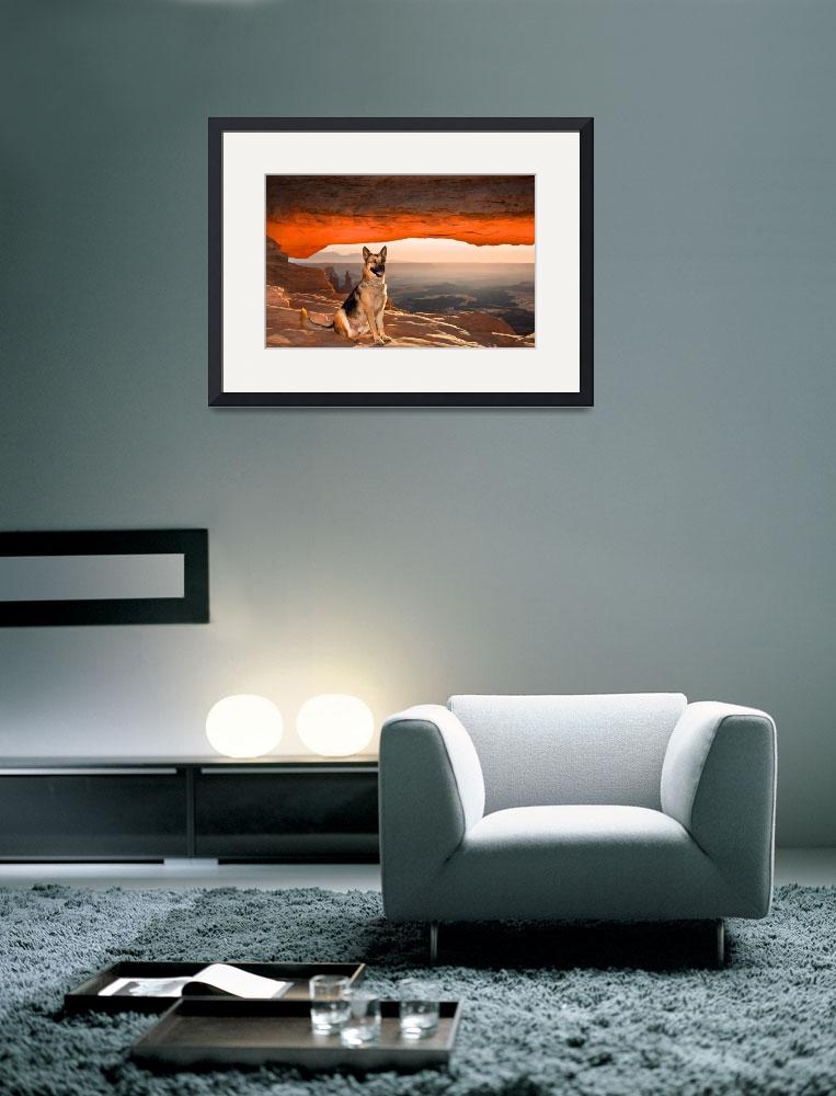 """""""Cody At Mesa Arch&quot  by pbk"""