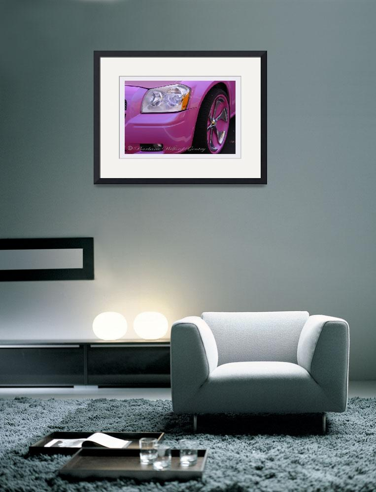 """""""Closer Look of a Pink Dodge&quot  by barbee"""