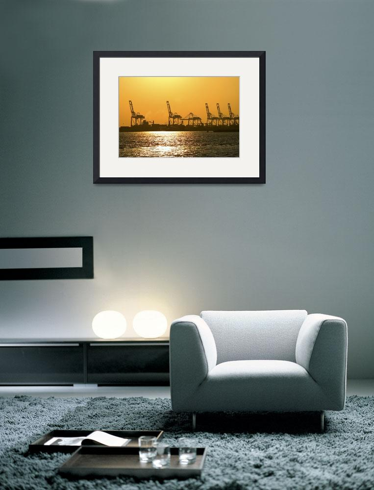 """""""Industrial Sunset&quot  (2006) by brianauer"""
