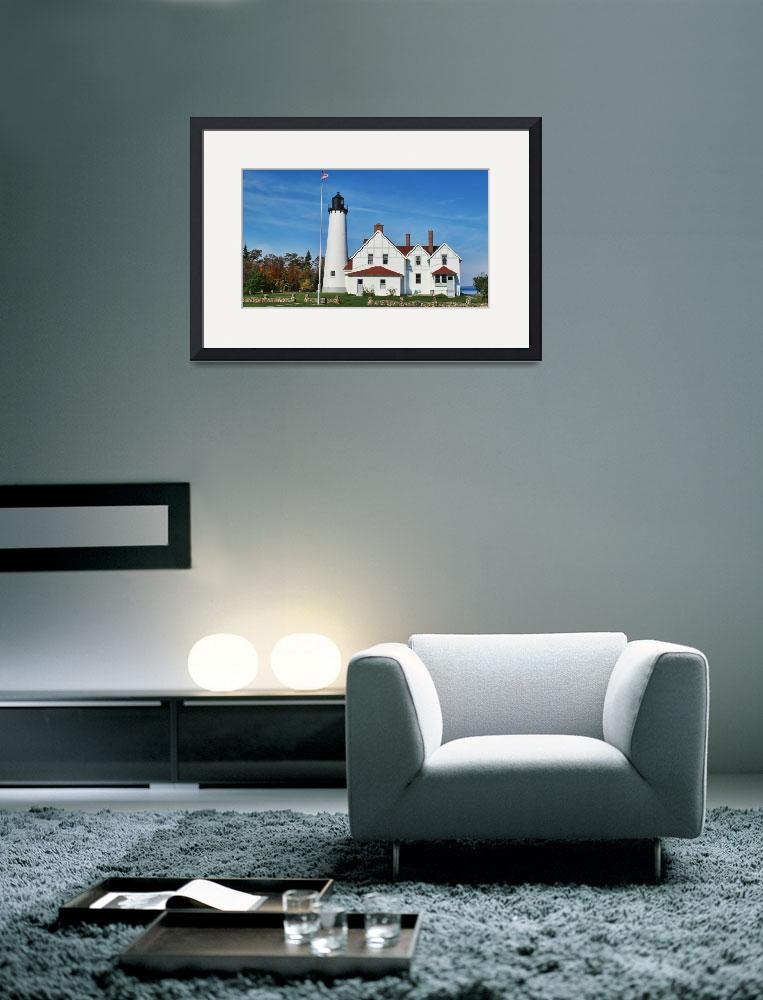 """""""Point Iroquois Lighthouse&quot  (2011) by patsphotos"""