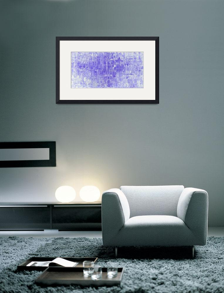 """""""Lavender Purple Abstract Art&quot  (2015) by modernhouseart"""