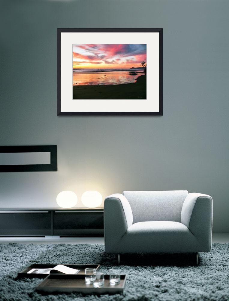 """""""Tropical Sunrise Morning Bliss Seascape C7&quot  (2015) by Ricardos"""