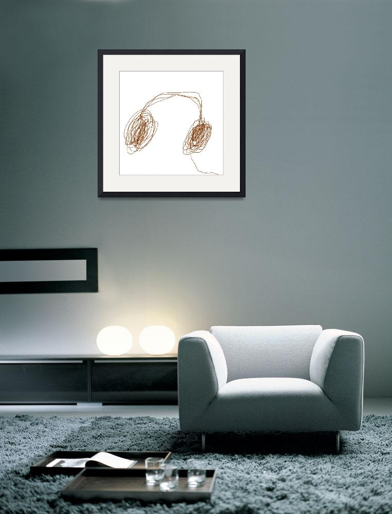 """headphones&quot  (2005) by uS"
