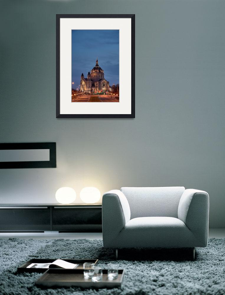 """""""Pointing to Heaven: Cathedral of St. Paul&quot  (2008) by WaynePhotoGuy"""