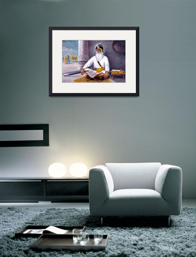 """""""Baba Deep singh&quot  by SikhPhotos"""