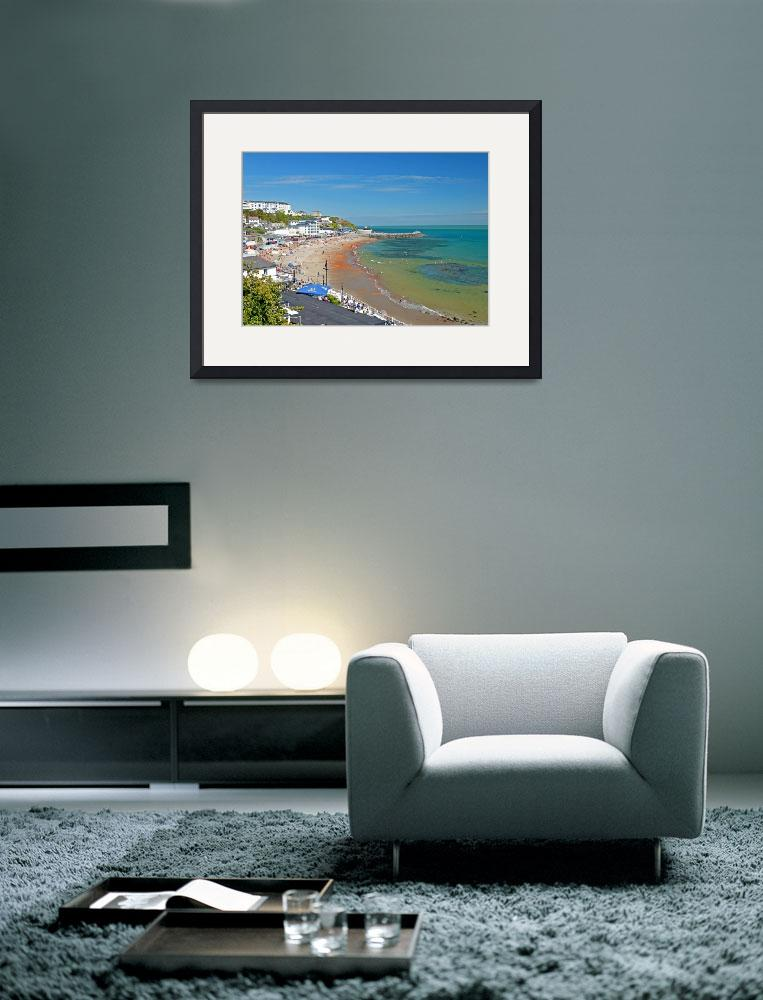 """Ventnor Beach and Seafront (24420-RDA)&quot  (2010) by rodjohnson"