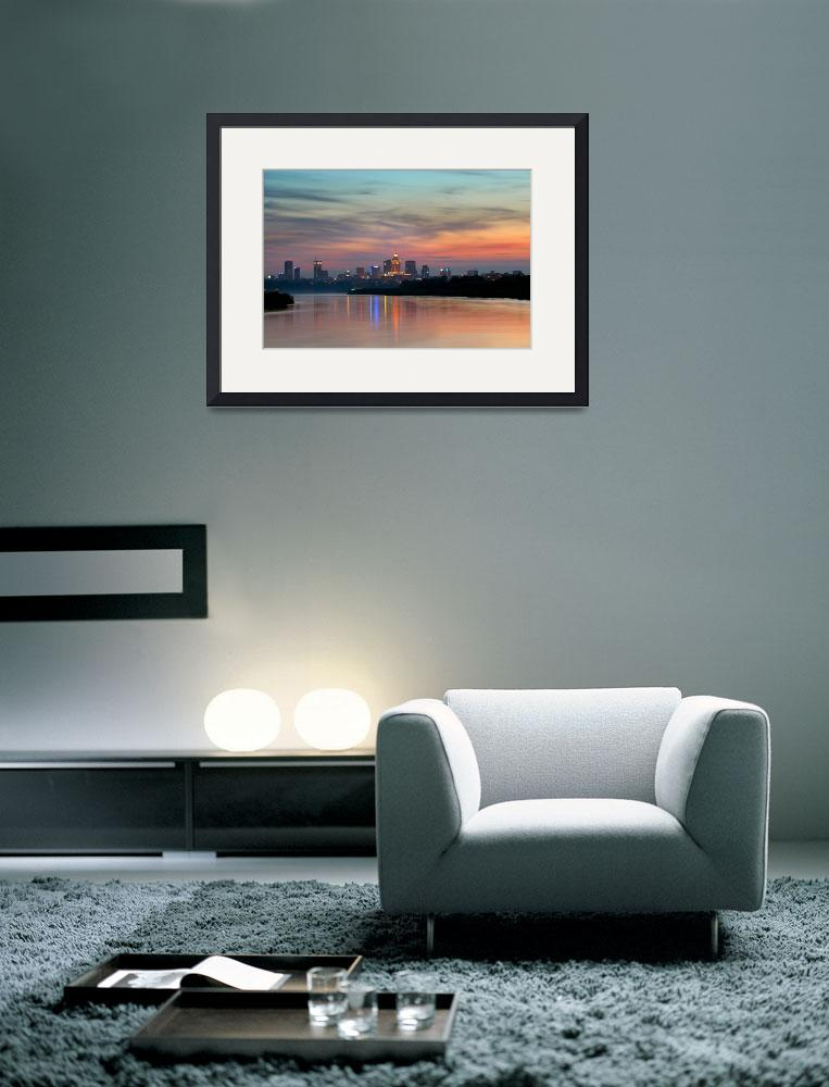 """""""City sunset""""  (2010) by guimo"""