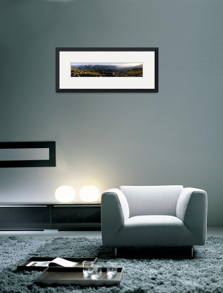 """""""Panorama Point Sunset&quot  (2009) by JimDockery"""
