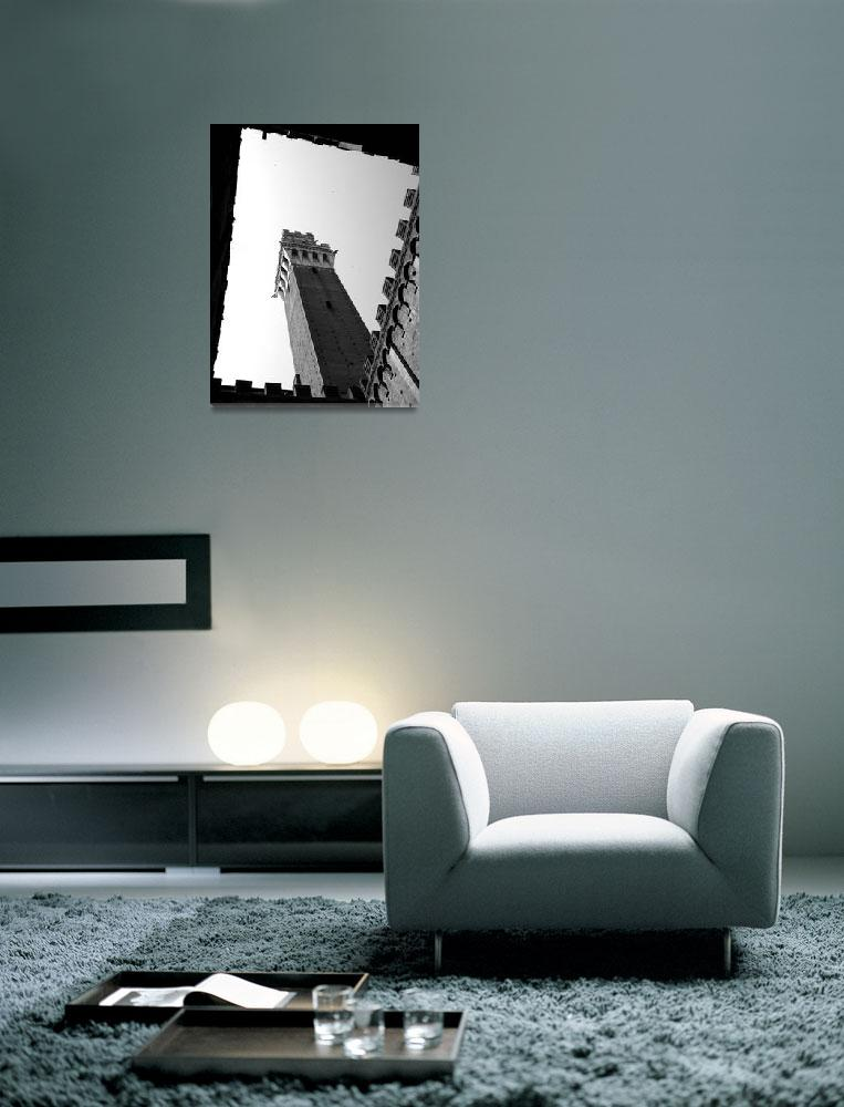 """""""ROMAN HOLIDAY - Framed Campanile&quot  (2008) by moderatefanatic"""