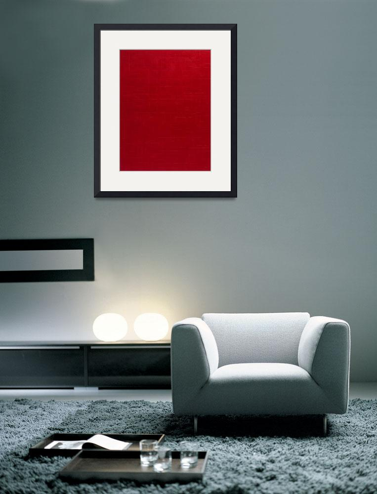 """""""red&quot  by michaelcallaghan"""