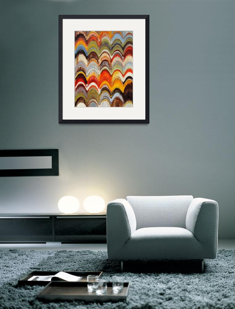 """""""ORL-5382-5 Wavy Blends""""  by Aneri"""