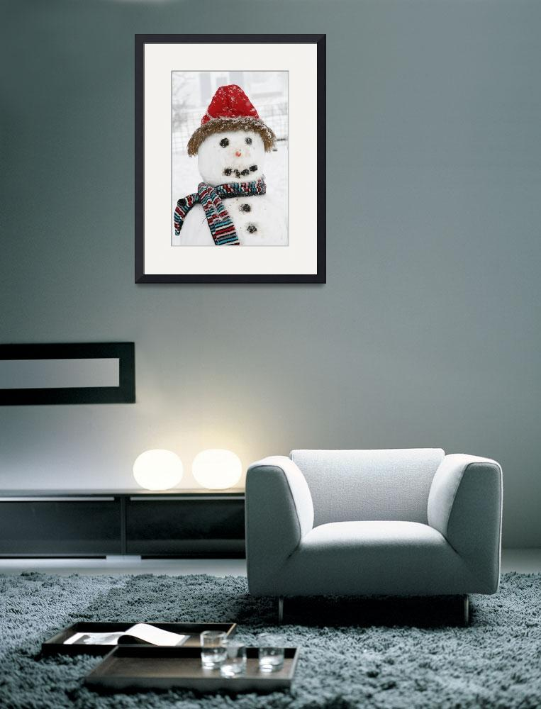 """""""Snowman&quot  by Susyr22"""
